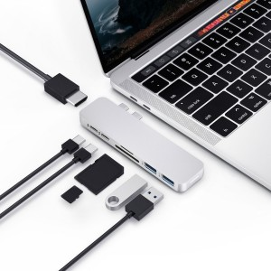 Представлен USB-hub HyperDrive DUO USB-C для ноутбука Mac