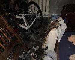 В ночном пожаре погибла пожилая горожанка