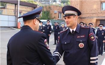 Элитный «спецназ» красноярской ГИБДД отметил 34-ю годовщину со дня создания