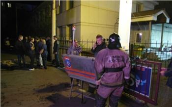 В МЧС назвали причину смертельного пожара в наркологической клинике в центре Красноярска