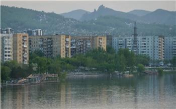 Уровень воды в Енисее на территории Красноярска снижается вторые сутки подряд