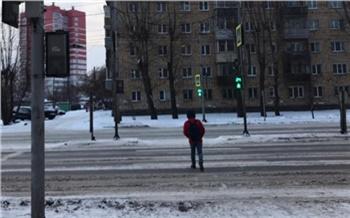В Красноярске автопьяница сбил ребенка и уехал