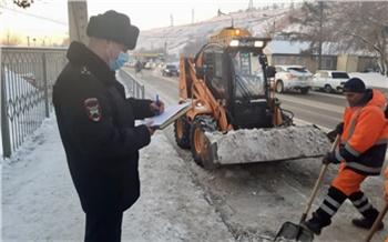 Из-за неочищенных дорог в Красноярске увеличилось количество ДТП
