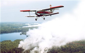Красноярская база охраны лесов ищет вертолеты и самолеты для тушения таежных пожаров и перевозки взрывчатки