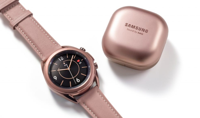 Samsung представила Galaxy Watch3 и Galaxy Buds Live