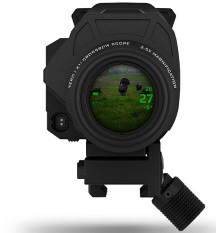 Garmin представляет XERO® X1i: прицел для арбалета со встроенным лазерным дальномером