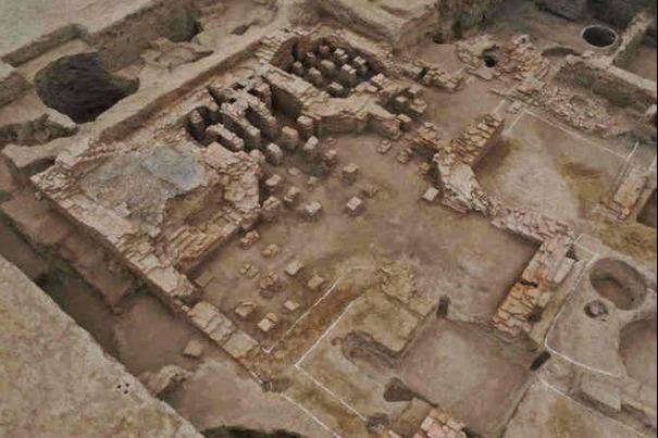 В Китае нашли древнеримскую баню