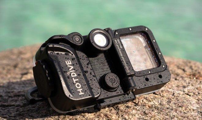 Устройство HotDive превращает смартфон в универсальный комплект для подводной съемки (2 фото + видео)