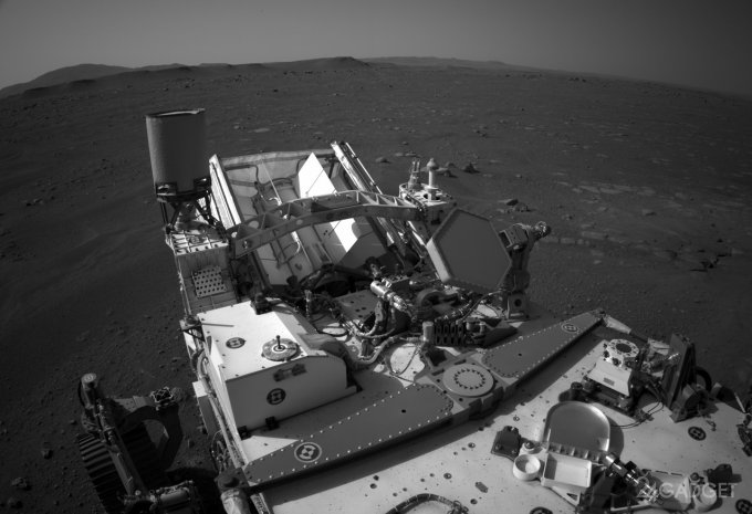 Опубликованы видео посадки Perseverance на Марс и первые звуки с Красной планеты (5 фото + 2 видео)