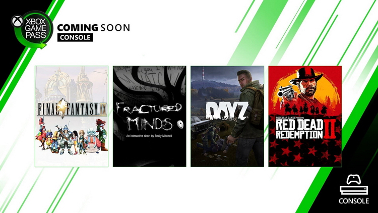 Xbox Game Pass ожидает пополнение: Red Dead Redemption 2, Final Fantasy IX, Endless Legend и другое