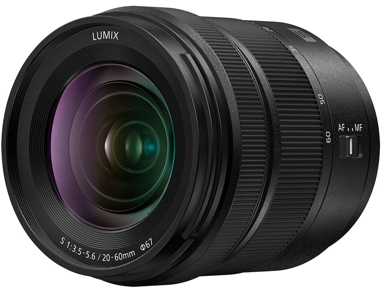 Объектив Panasonic Lumix S 20-60mm F3.5-5.6 для камер L-Mount стоит $600