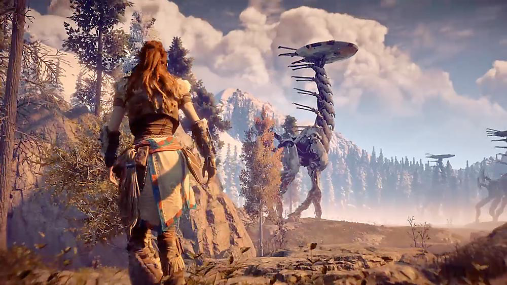 Видео: блогер сравнил Horizon Zero Dawn на ПК и PS4 Pro  значительных изменений не обнаружено