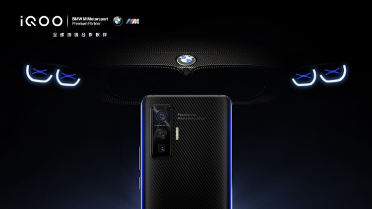 Гоночный смартфон Vivo iQOO 5 BMW Edition получит кевларовую отделку