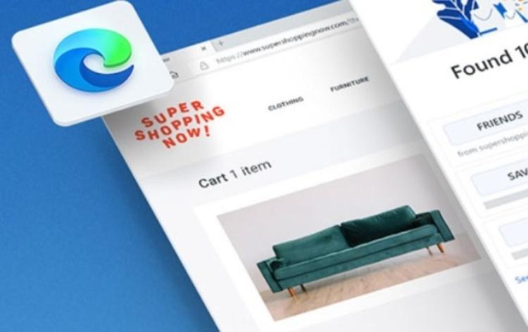 В браузере Microsoft Edge появились функции, облегчающие онлайн-шопинг