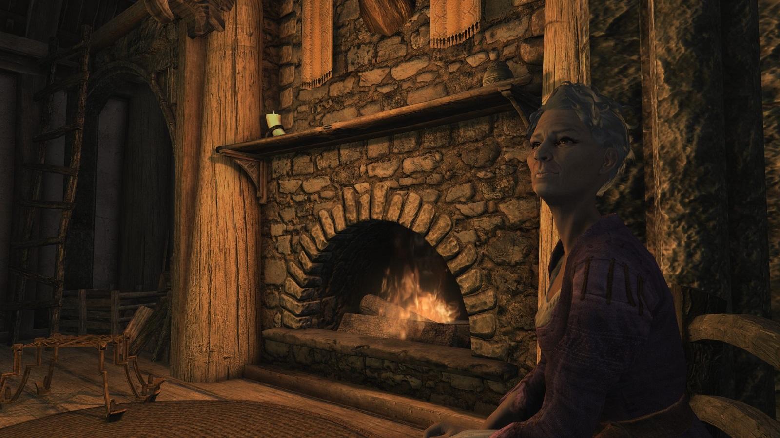 В ожидании The Elder Scrolls VI: моддеры увековечили «Skyrim-бабушку» в её любимой игре