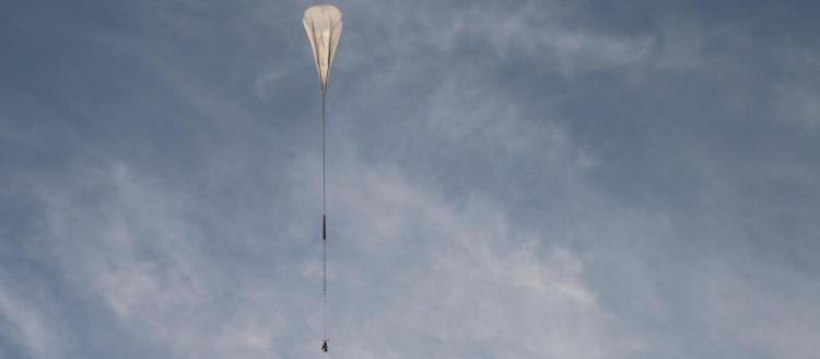 Телескоп SuperBIT будет работать в стратосфере Земли — туда его доставят на огромном шаре