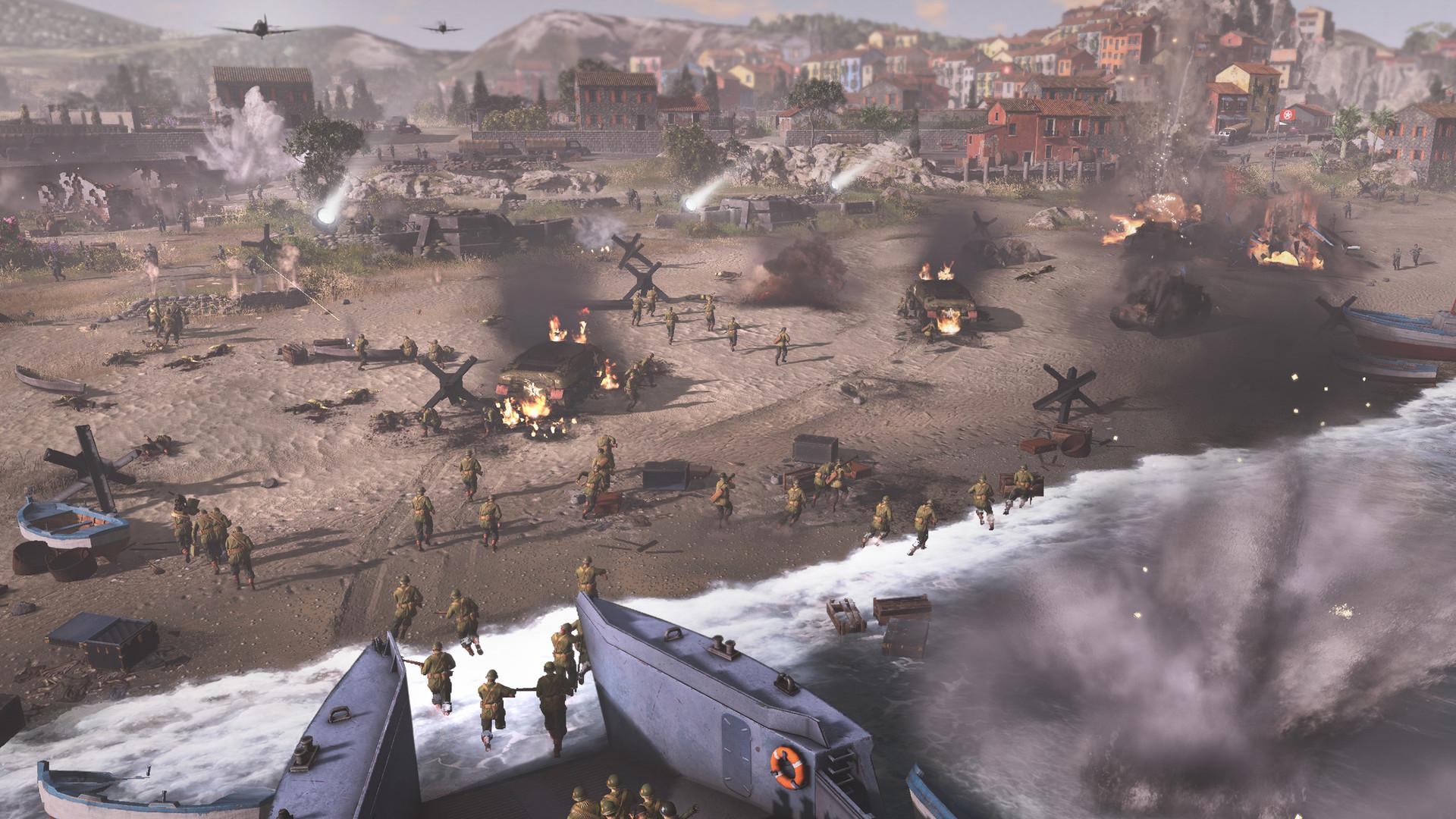 Видео: действия на тактической карте и управление в режиме реального времени в трейлерах Company of Heroes 3