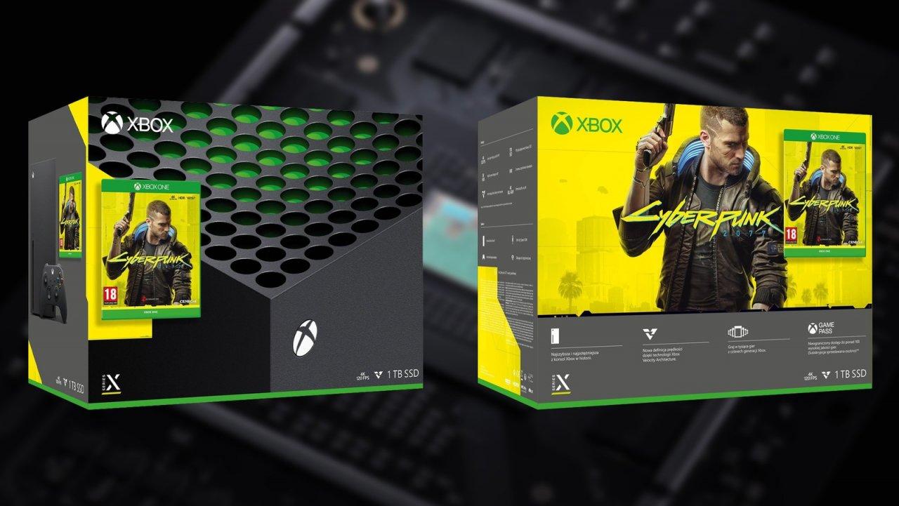 В польском магазине замечен бандл Xbox Series X с игрой Cyberpunk 2077