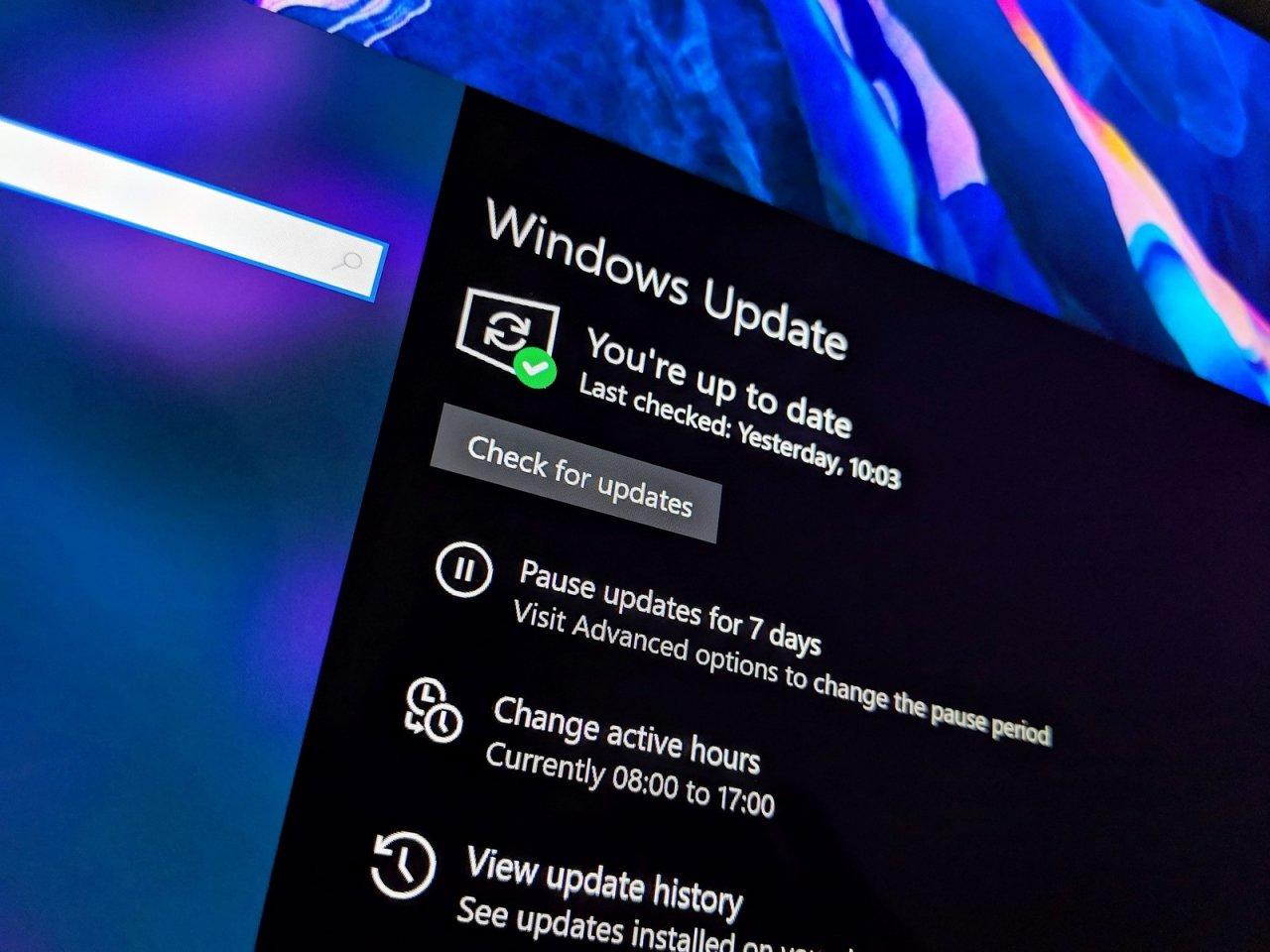 Windows 10 версии 21H1 будет являться незначительным обновлением ОС