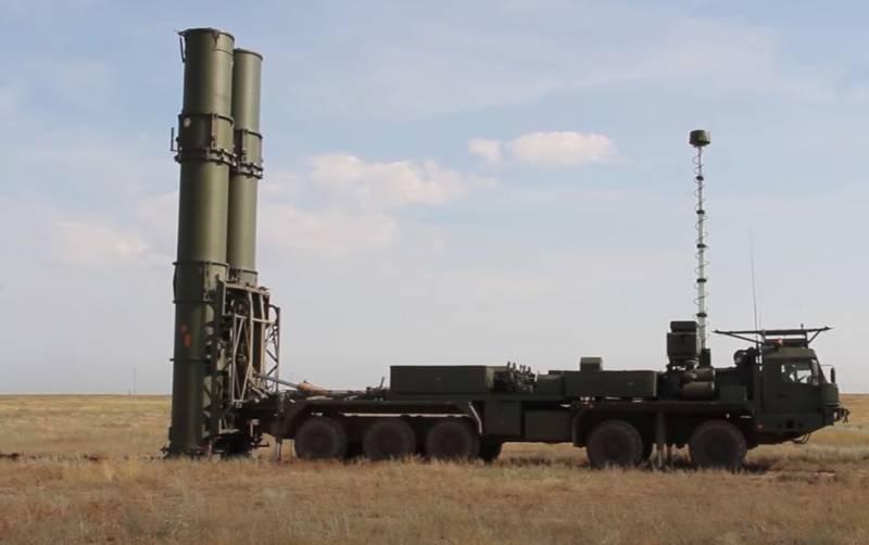 Показаны кадры испытаний ЗРК С-500 «Прометей» в Астраханской области