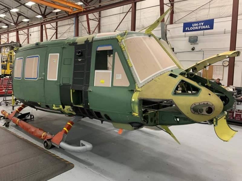 «Отвёрточная» крупноузловая сборка: на Украине назвали сроки презентации гражданской версии вертолёта «Ирокез»