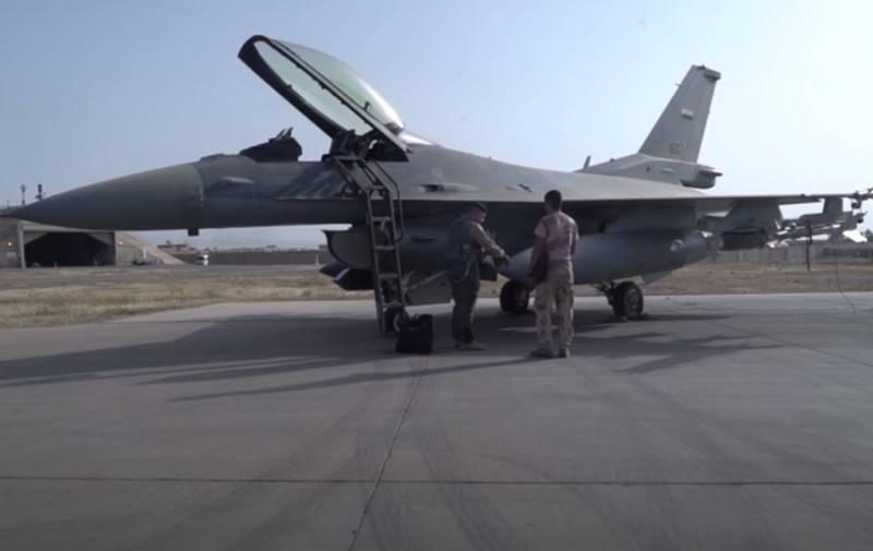 В США иракский вариант истребителей F-16IQ назвали наименее боеспособным