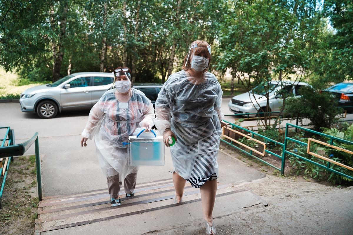 На выборах в Госдуму будет действовать противоэпидемический дресс-код