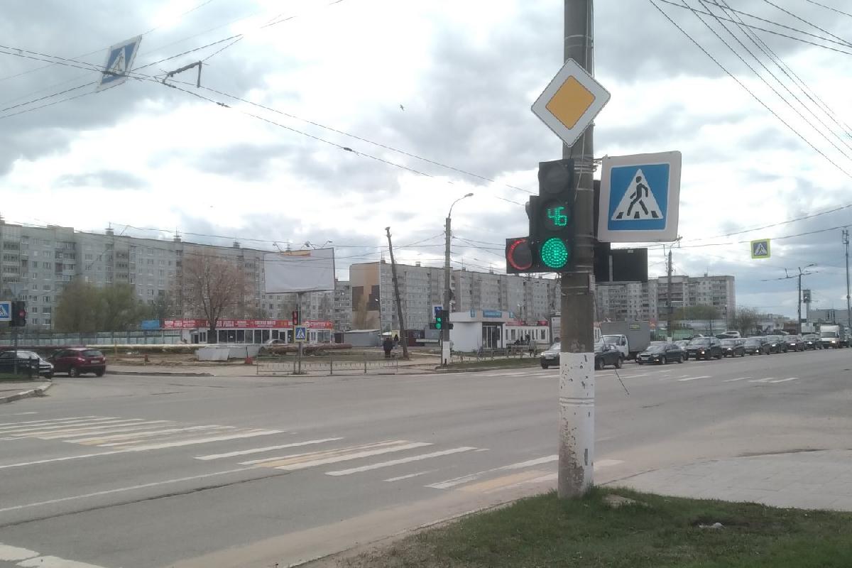 В Твери изменили режим работы светофора