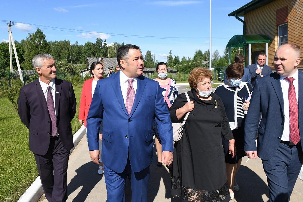 Игорь Руденя совершил рабочую поездку в Максатихинский район