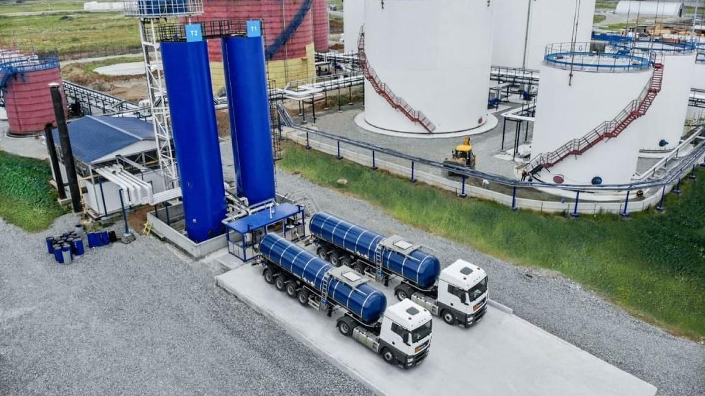 Первый в Свердловской области. Уральский битумный терминал вошел в логистическую сеть «Газпром нефти»