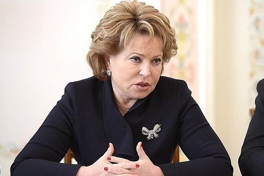 Матвиенко спрогнозировала сроки отмены основных ограничений по коронавирусу