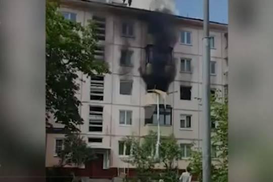 Версия о взрыве газа в столичной пятиэтажке не нашла подтверждения