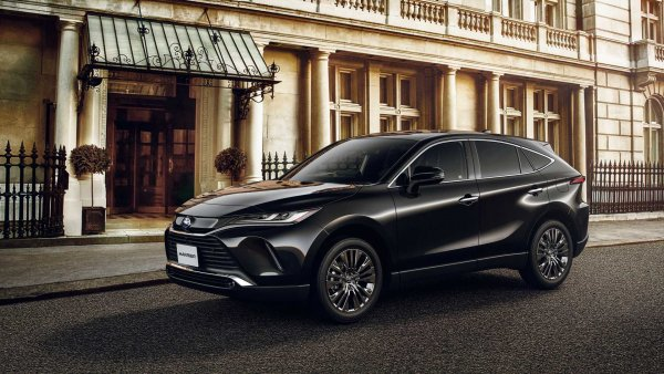 Альтернатива RAV4: Представлен спортивный Toyota Harrier GR