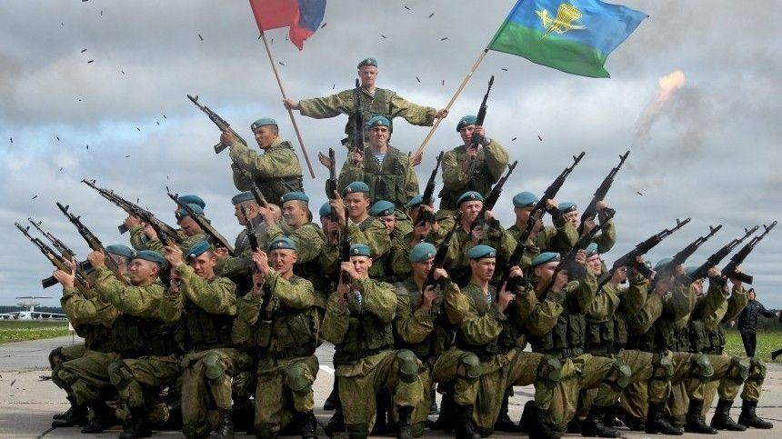 Владимир Путин поздравил с 90-летием ВДВ личный состав и ветеранов «крылатой пехоты»