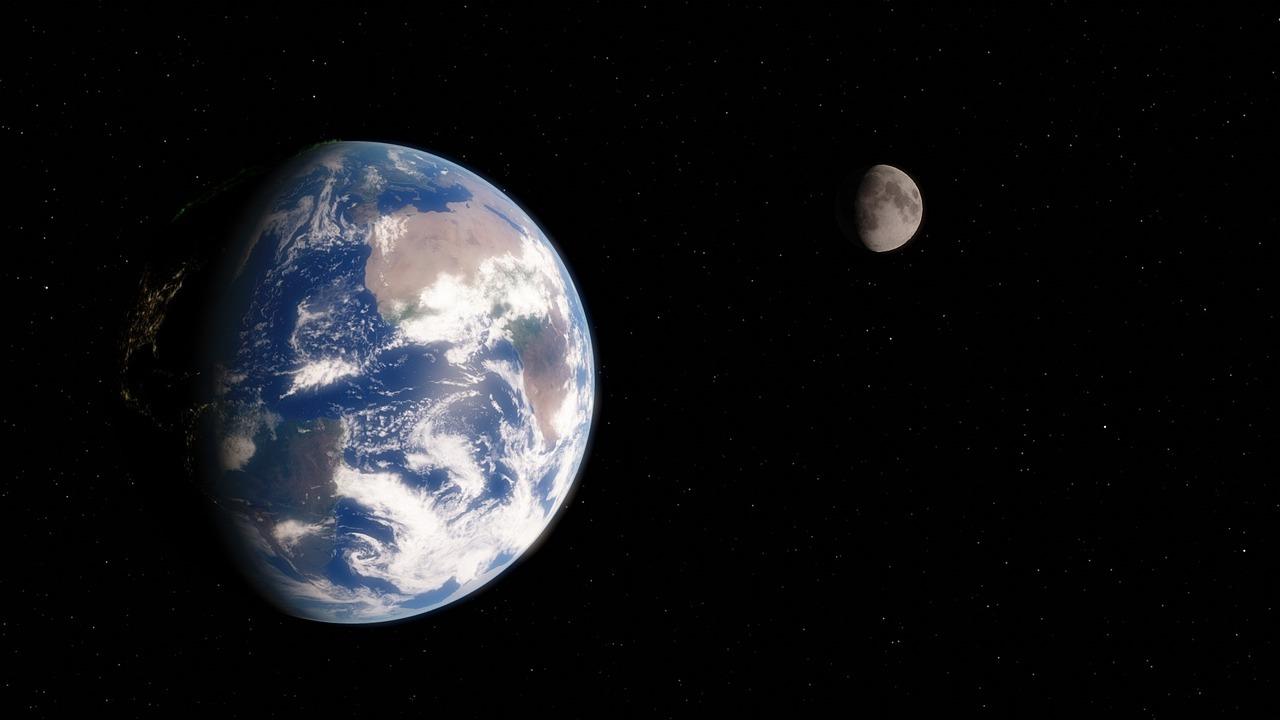 Луна защитила древнюю Землю от Солнца