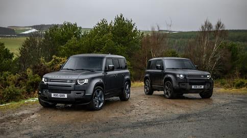 Land Rover назвал стоимость 525-сильного Defender V8 в России