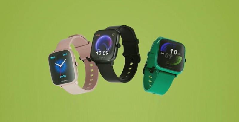 Представлены Amazfit Pop — недорогие смарт-часы с NFC и пульсоксиметром