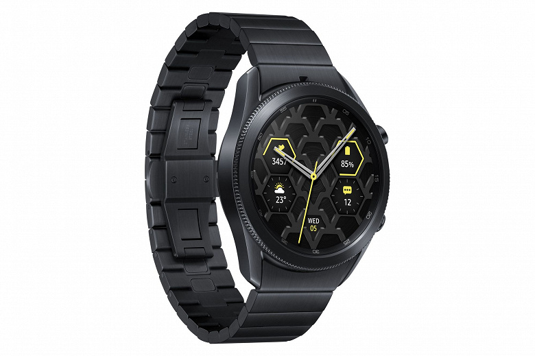 Представлены умные часы Samsung Galaxy Watch 3 Titanium и Galaxy Watch 3 Titanium PXG Edition