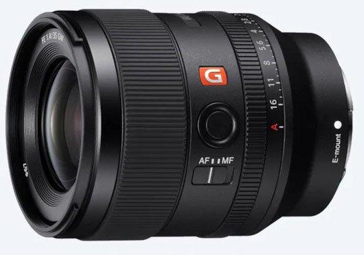 Объектив Sony FE 35mm F1.4 GM оценен в 1700 евро