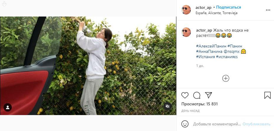 «В России икру ложками ели…» — актер Панин заставил дочь воровать еду в Испании