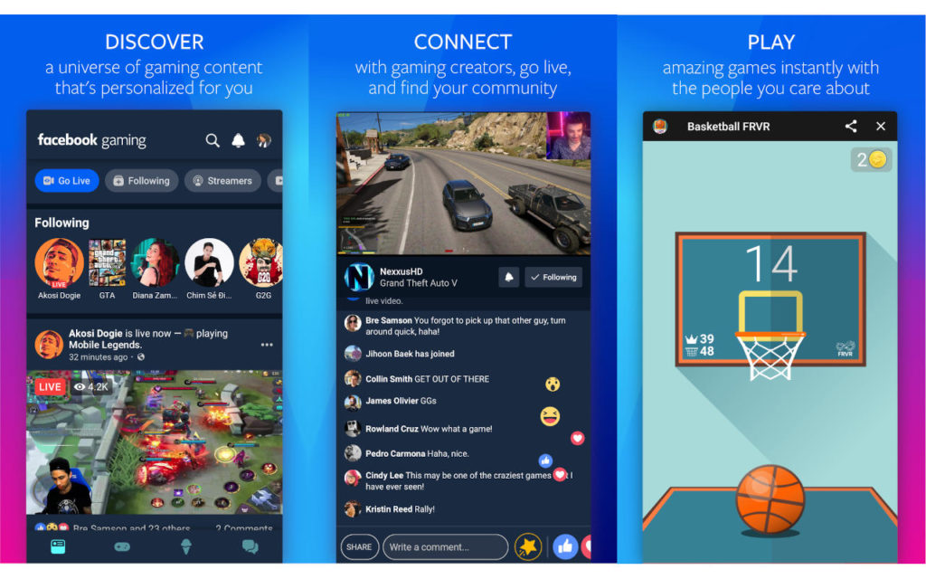 Вышла Android-версия Facebook Gaming
