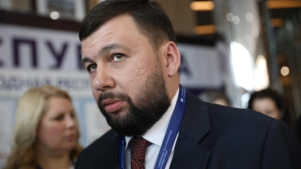 Пушилин констатировал эскалацию в Донбассе из-за 'американских гостей'