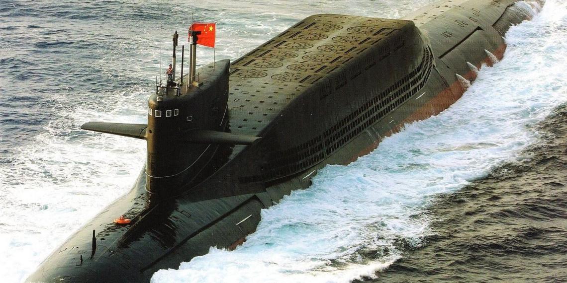 КНР создала подлодку с межконтинентальными ракетами, способными достигать всей территории США