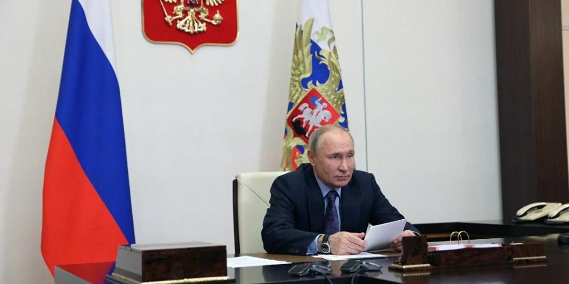 Путин запустил в работу Амурский газоперерабатывающий завод