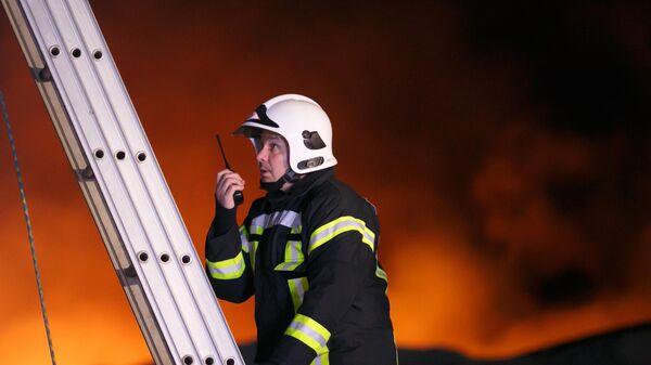В Южно-Сахалинске произошел пожар в пятиэтажном доме