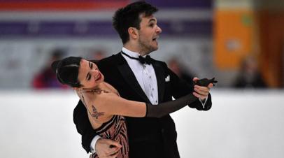 Худайбердиева и Базин победили в танцах на льду на этапе Кубка России