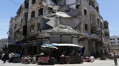 В Сирии откроют три пункта пропуска для выхода жителей из Идлиба