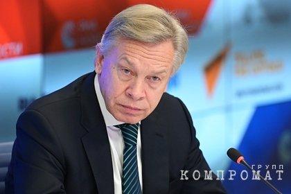 Пушков высмеял обещание Порошенко за год отобрать Крым