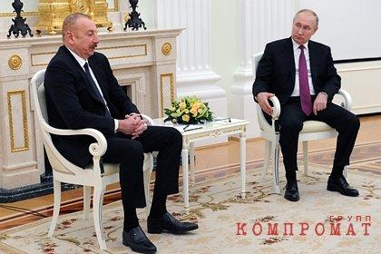 Песков раскрыл подробности о переговорах Путина и Алиева