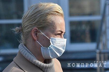 Юлия Навальная вернулась в Россию
